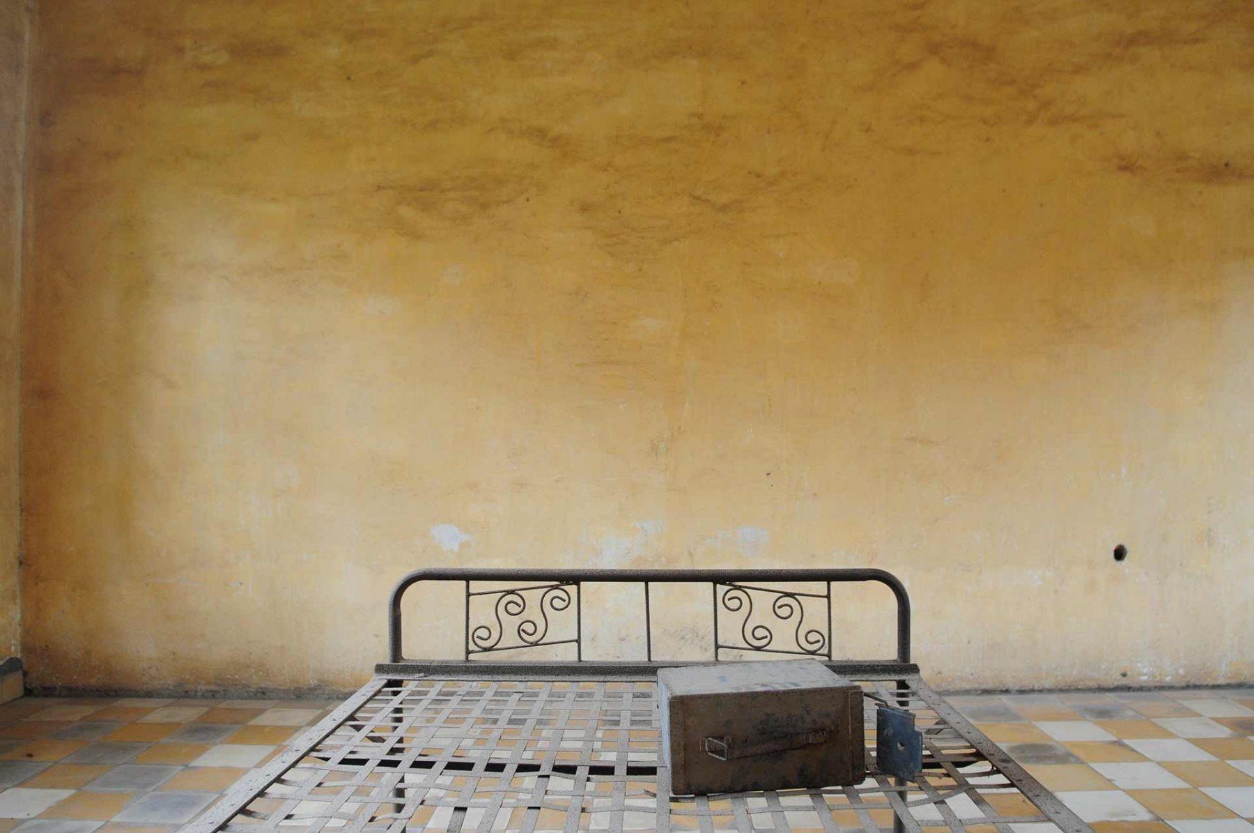 S-21 prison. Cambodia.
