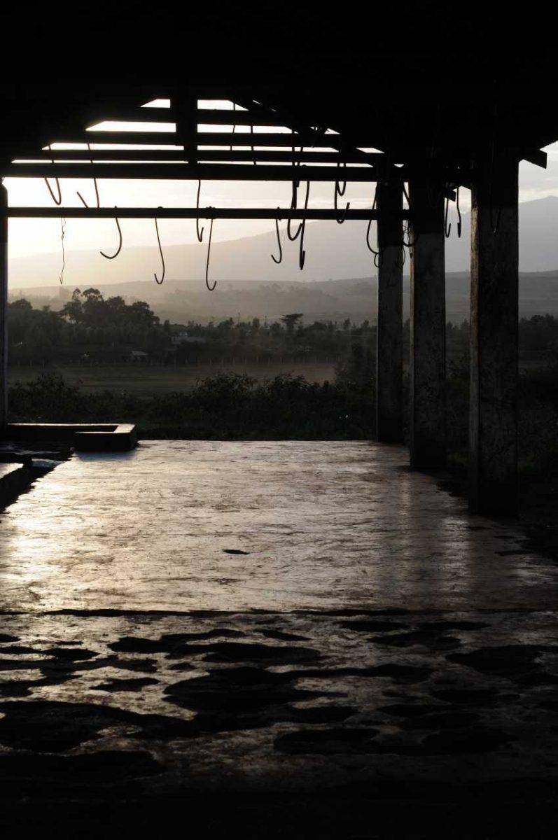 Slaughterhouse. Tanzania