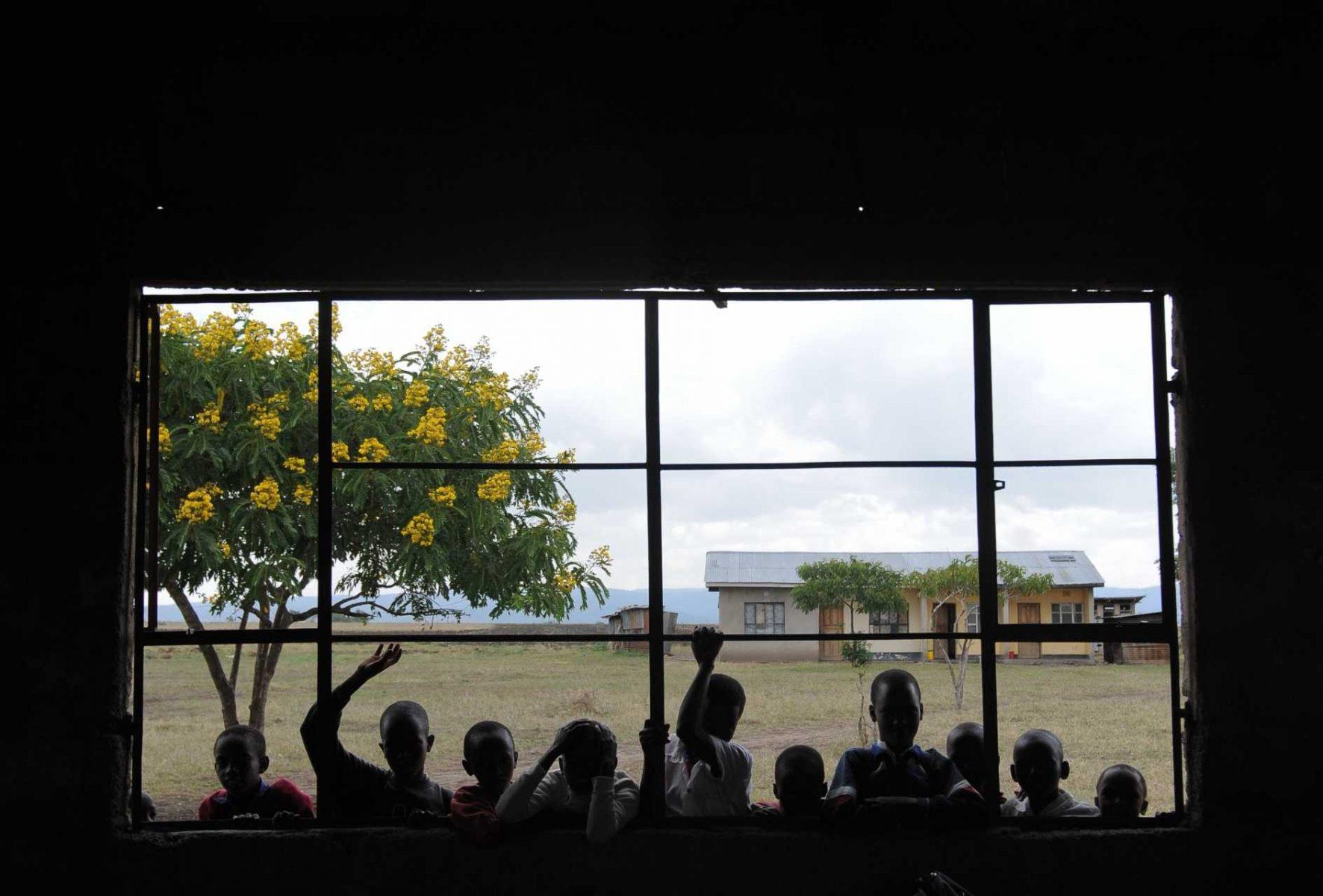 School. Tanzania.