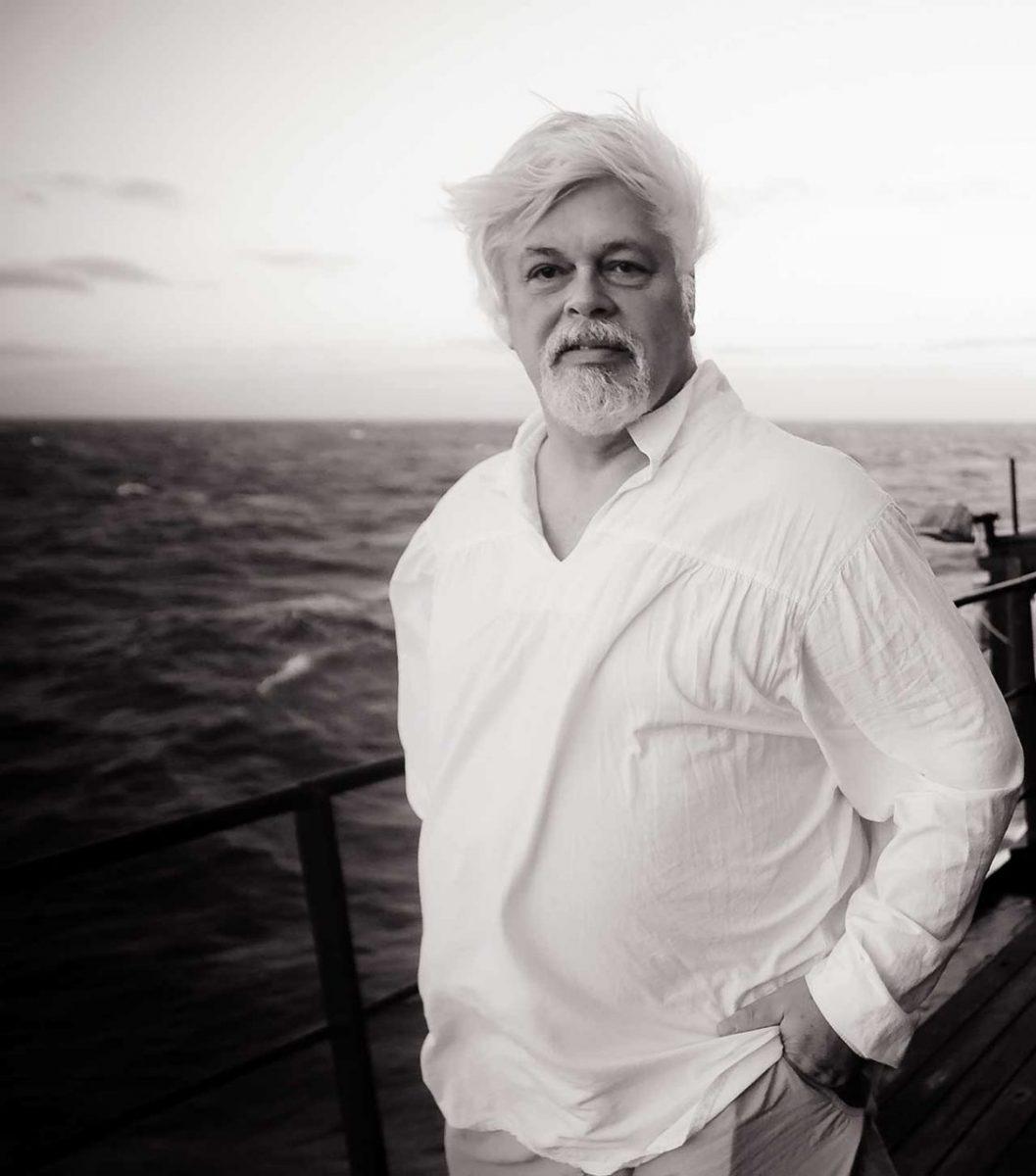Sea Shepherd founder Captain Paul Watson. Antarctic Ocean