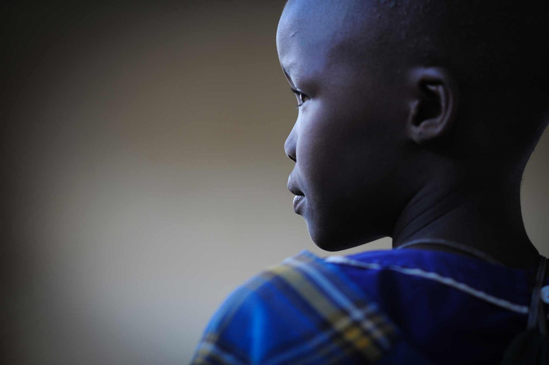 A young girl at the school medical clinic. Tanzania. JMcArthur / Mary Tidlund Foundation