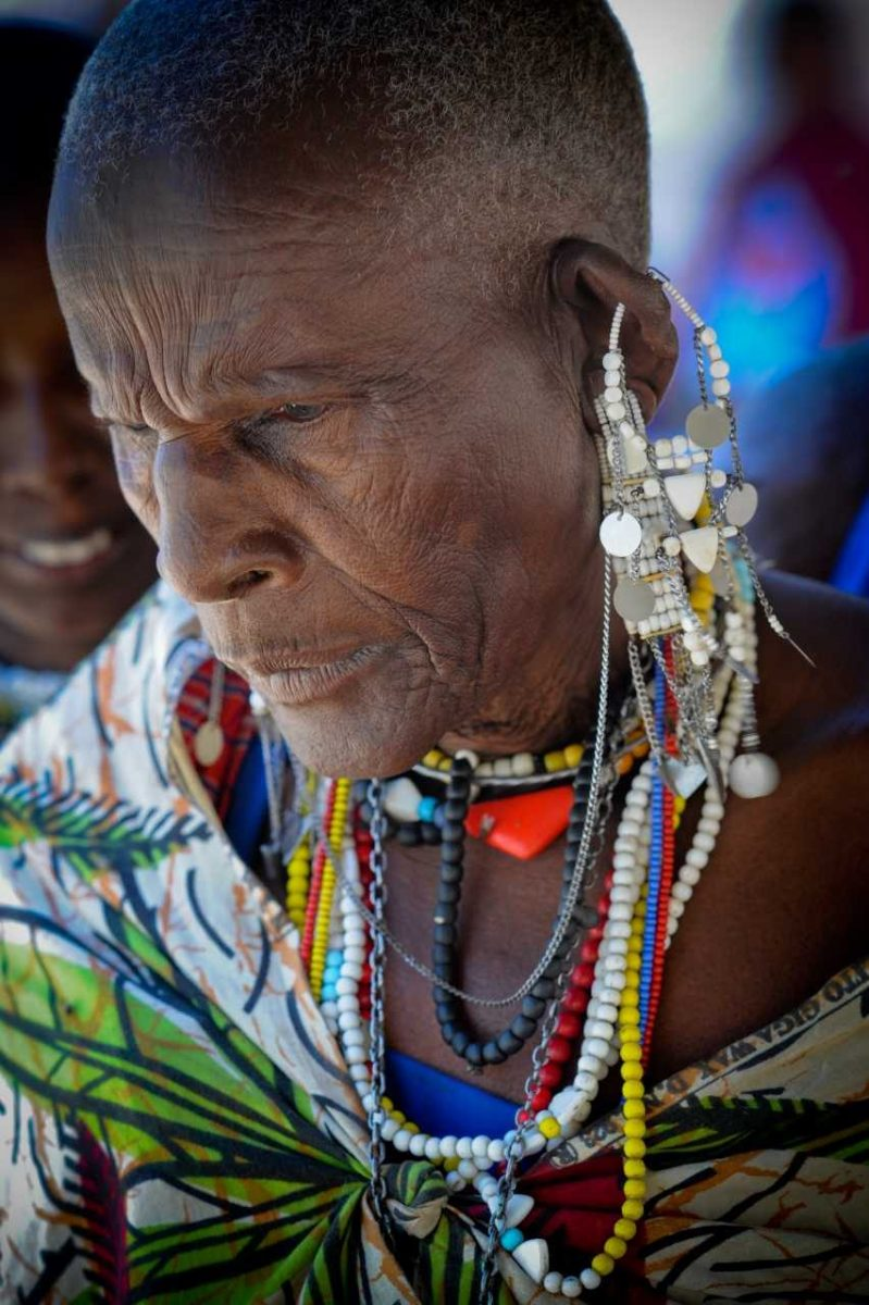 Maasai woman. Tanzania
