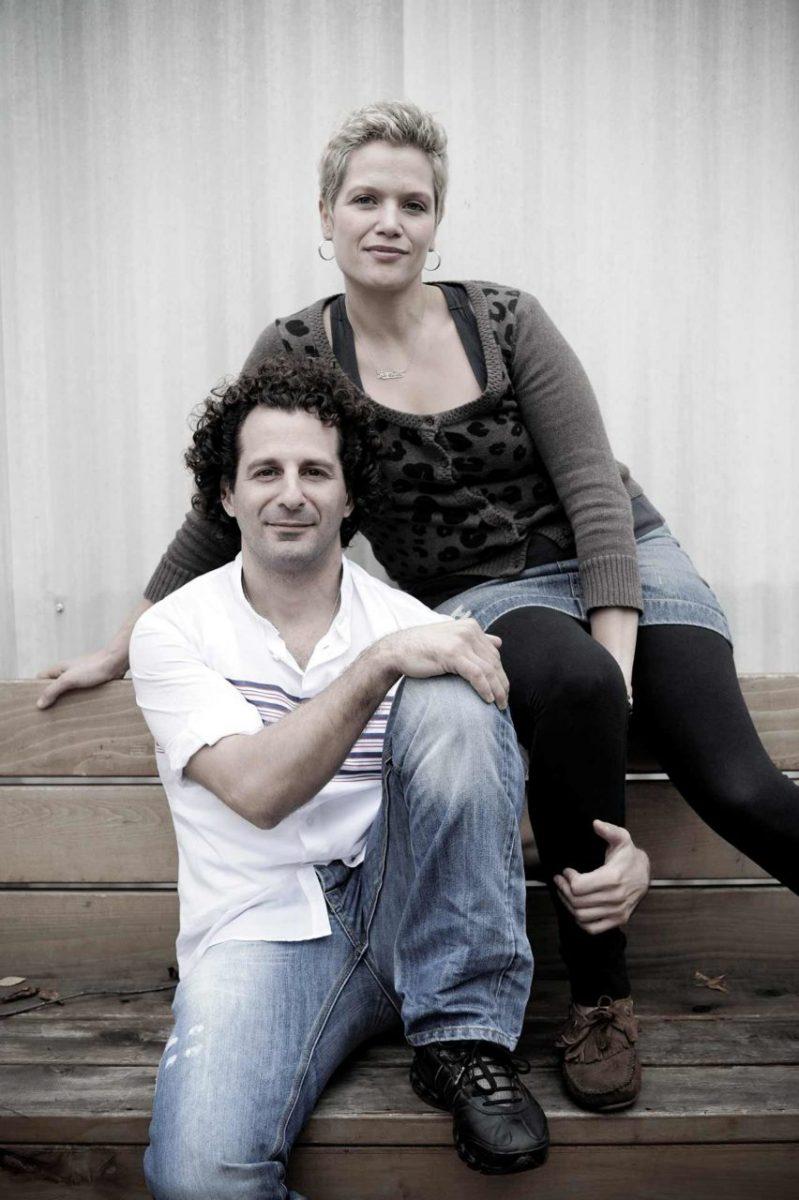 Jen and Chris, restaurant owners. Canada. Client: LIVE restaurant