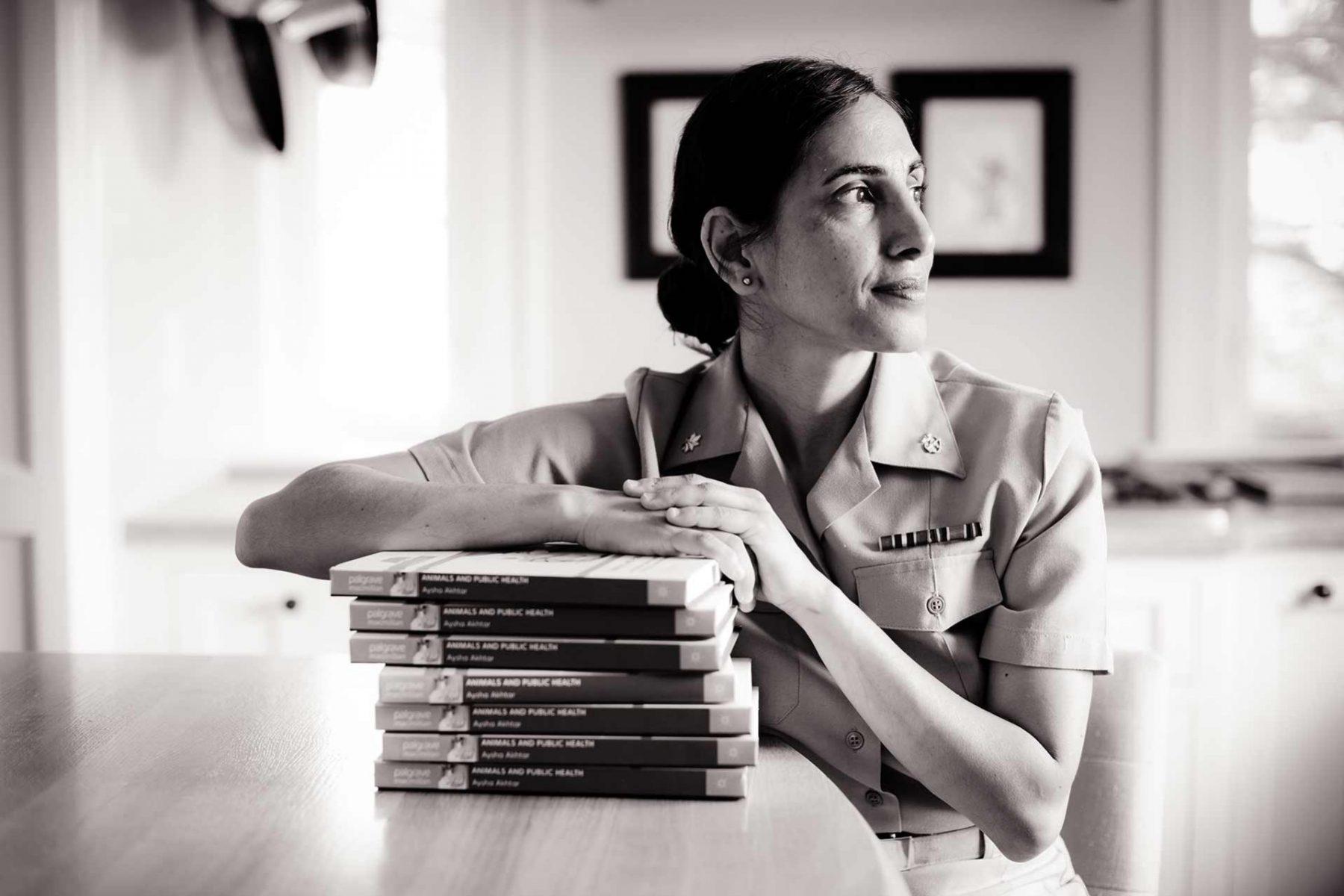 Aysha Akhtar, neurologist and specialist in preventative medicine and public health. USA, 2015