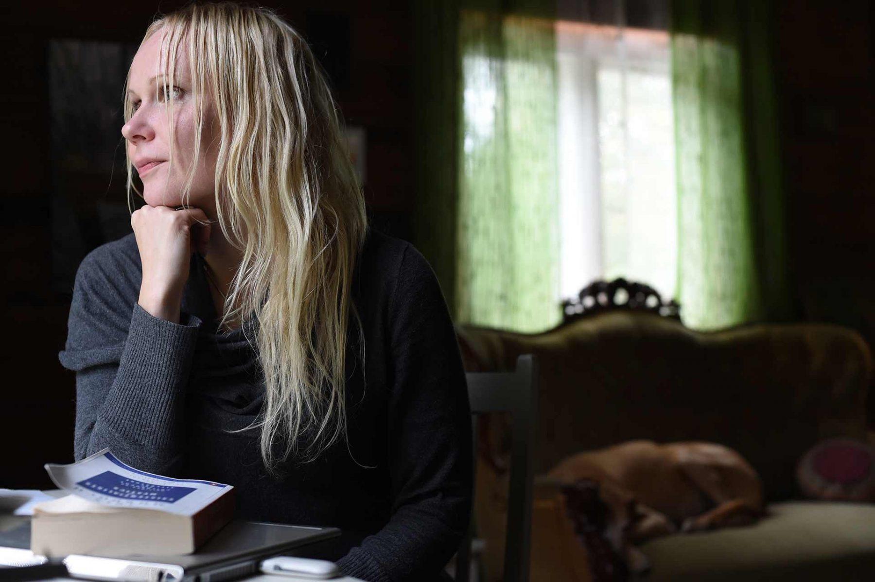 Elisa Aaltola, philosopher and author. Finland, 2015