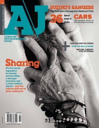 Alternatives Journal - Cover Image