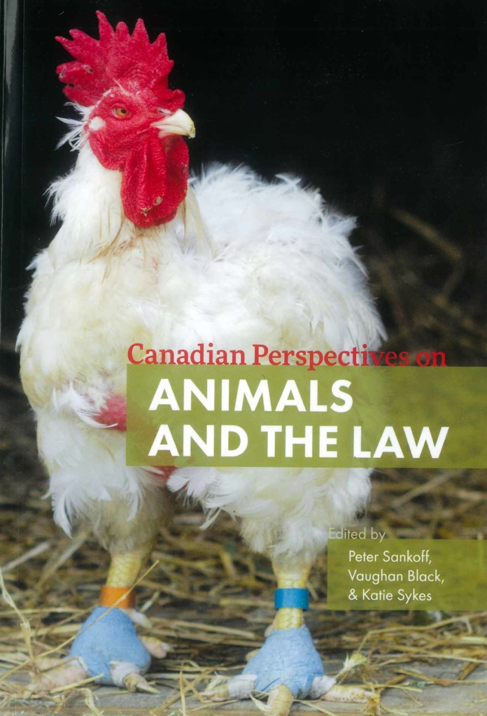 Animals and the Law - Book Cover