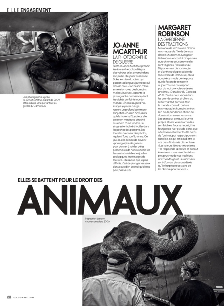 Elle Magazine, 2020
