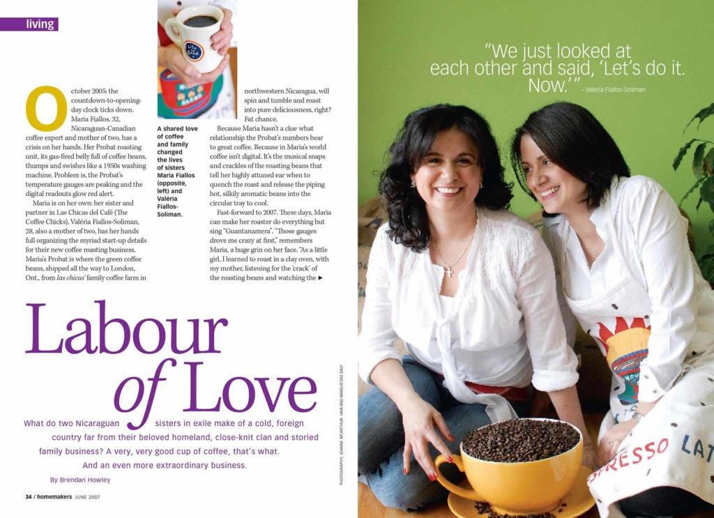 Homemakers Magazine 2007