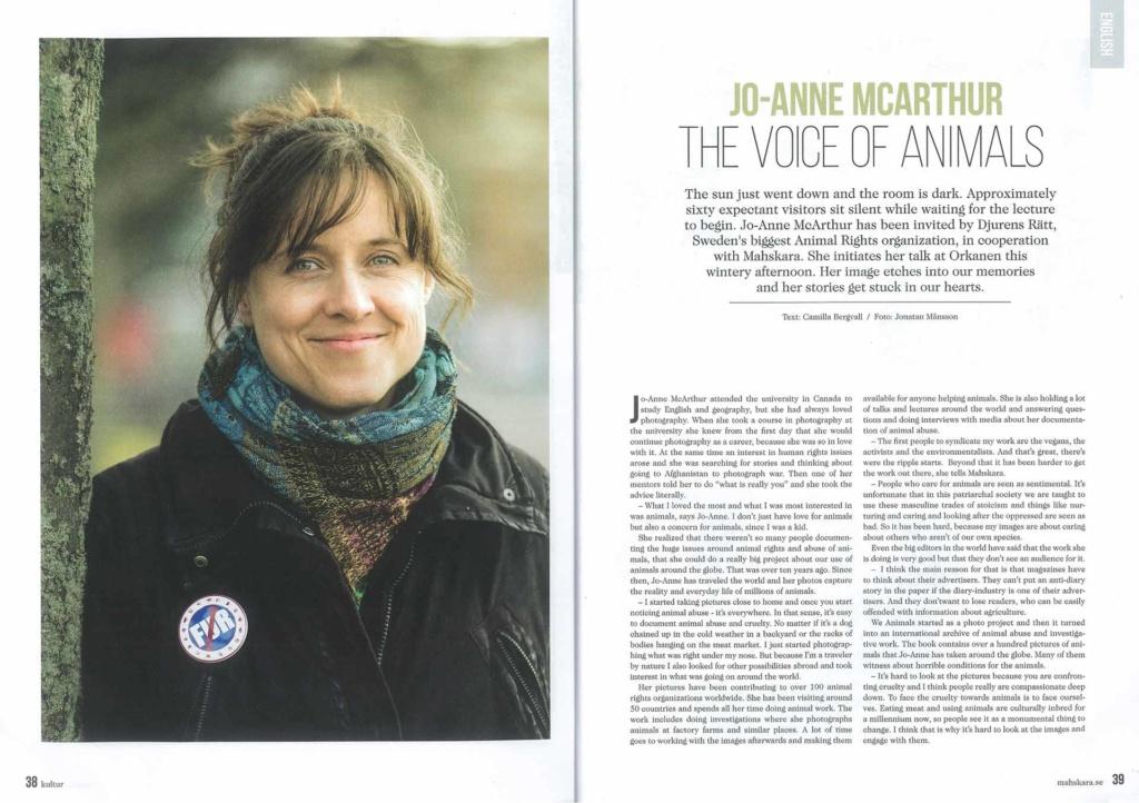 Mahskara Magazine, Sweden