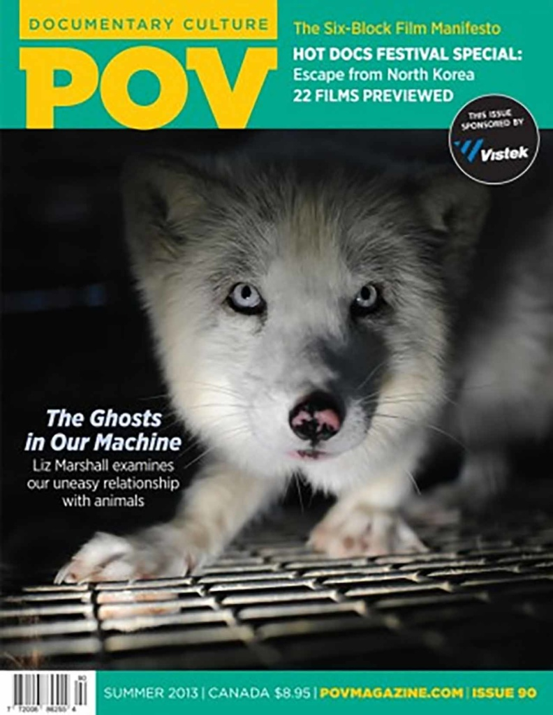 Point of View Magazine, Cover Image