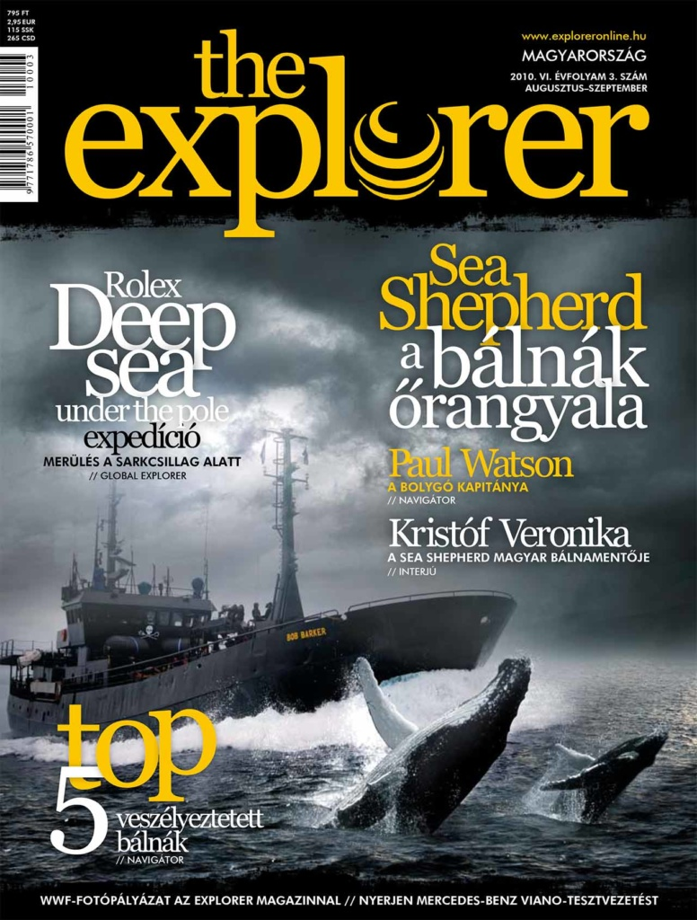 The Explorer Magzine - Cover Image